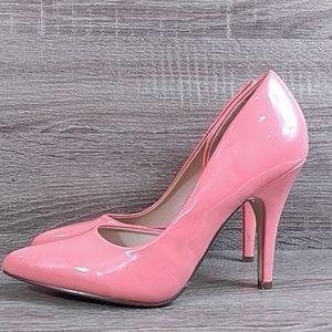 Dollhouse half open stiletto small point heels